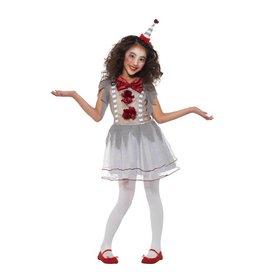 Vintage Clown Kostuum, Girl