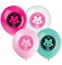 Ballonnen L.O.L. Surprise (30 cm, 8 stuks)