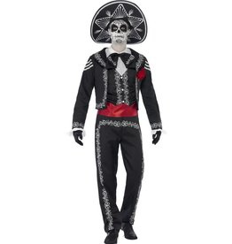 Day of the Dead Señor Bones kostuum