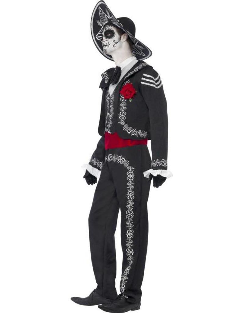 Day of the Dead Señor Bones kostuum