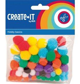 Pompoms Create-it 78 stuks