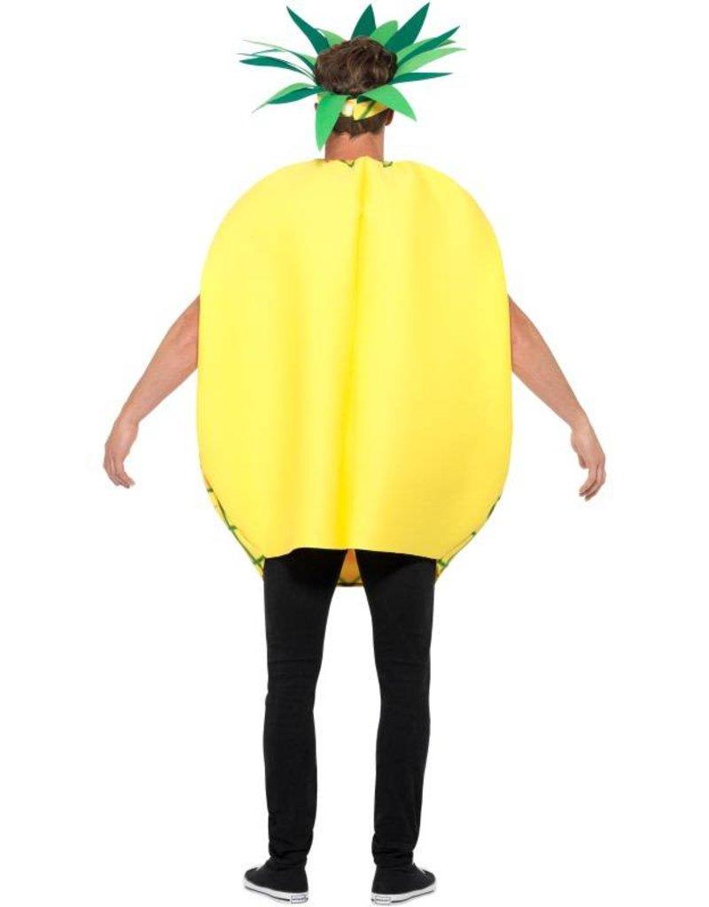 Ananas Kostuum, geel met muts.