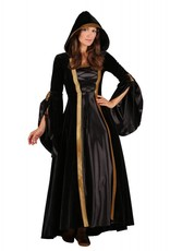 Middeleeuwse dame, Zwart