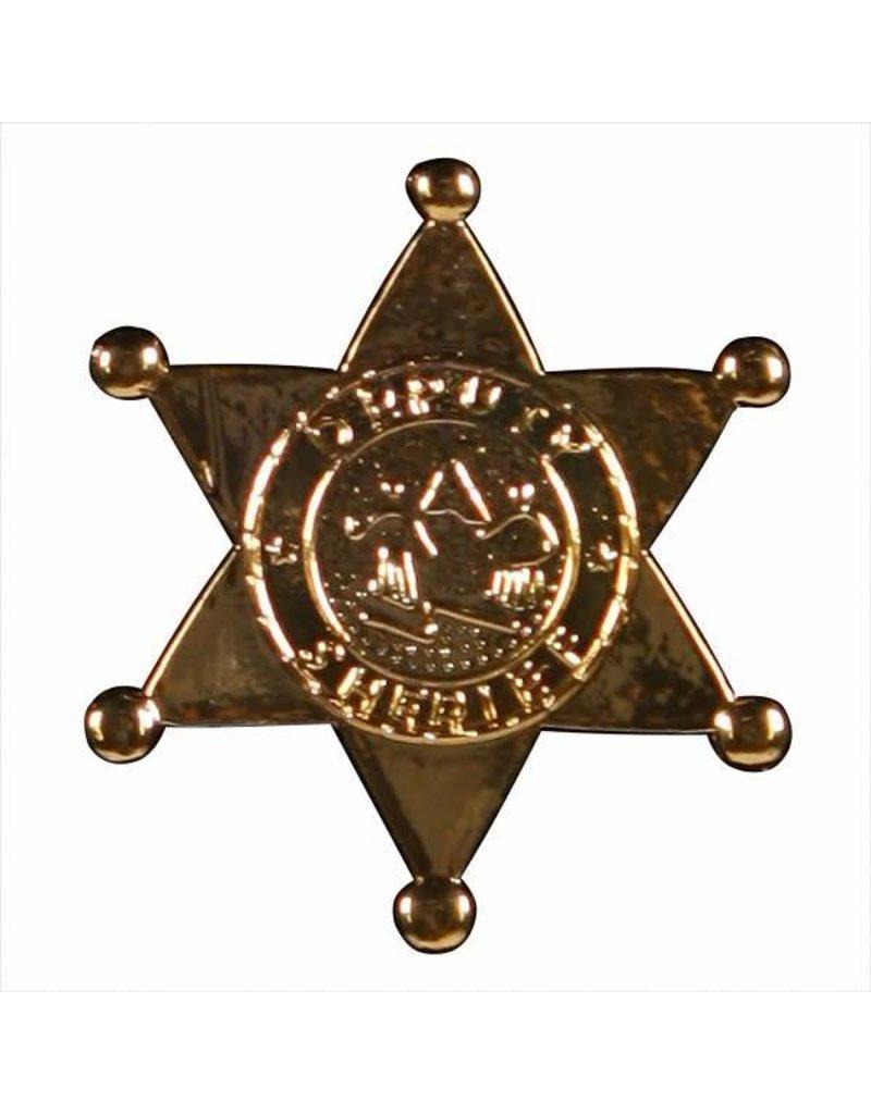 Sheriff ster met speld, goud