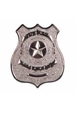 Special Police, embleem met speld, zilver
