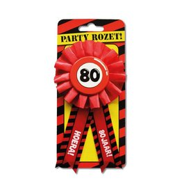 Party Rozetten - 80 jaar