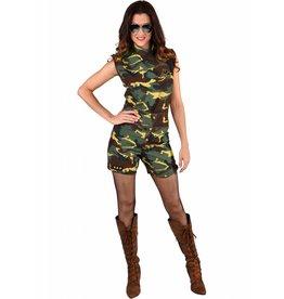 Hotpants Camouflage (2-delig)