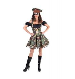 Officiers Meisje, Camouflage Jurk