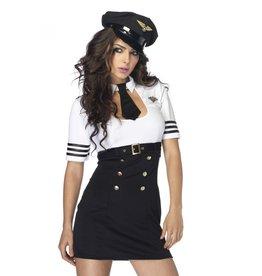 leg avenue First Class Captain Dameskostuum