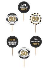 Cupcake Toppers 50 jaar