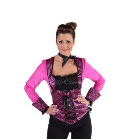 Top Burlesque Pink