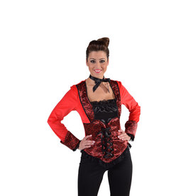 Top Burlesque Rood