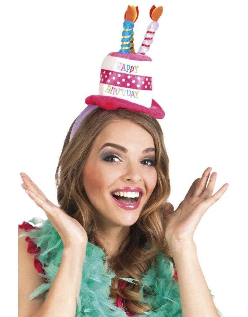 Tiara Taart Happy Birthday op diadeem
