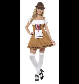 Bavarian Biermeisje Kostuum