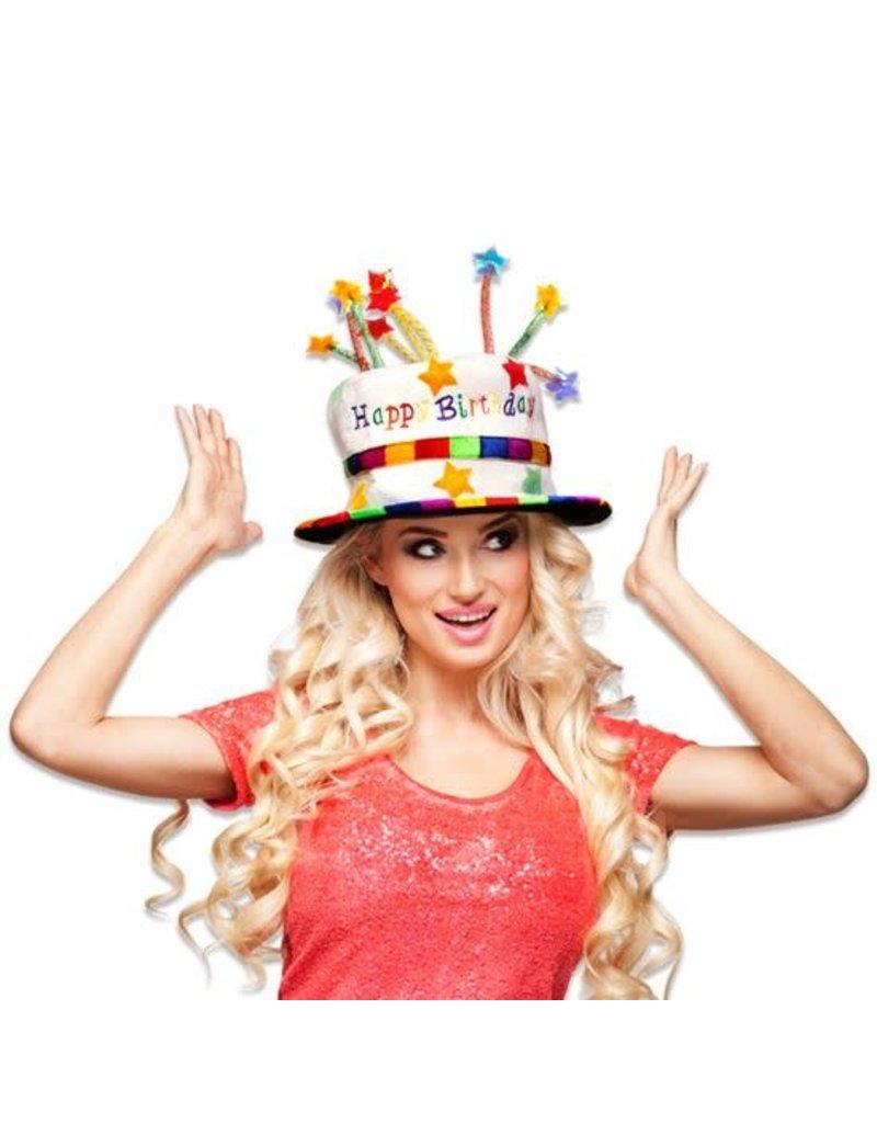 Hoed Taart 'Happy Birthday'
