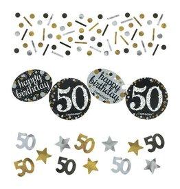 Confetti Sparkling Gold 50 jaar (34 gr)