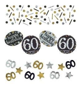 Confetti Sparkling Gold 60 jaar (34 gr)