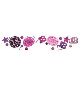 Confetti Sparkling Pink 18 jaar (34 gr)