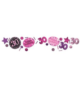 Confetti Sparkling Pink 30 jaar (34 gr)