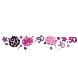 Confetti Sparkling Pink 50 jaar (34 gr)