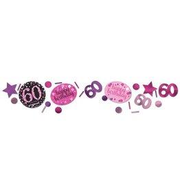 Confetti Sparkling Pink 60 jaar (34 gr)