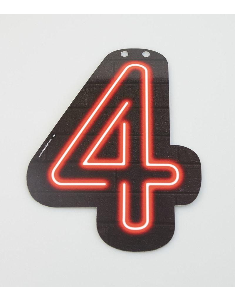 Neon letter - 4