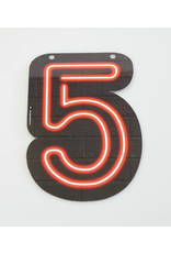 Neon letter - 5