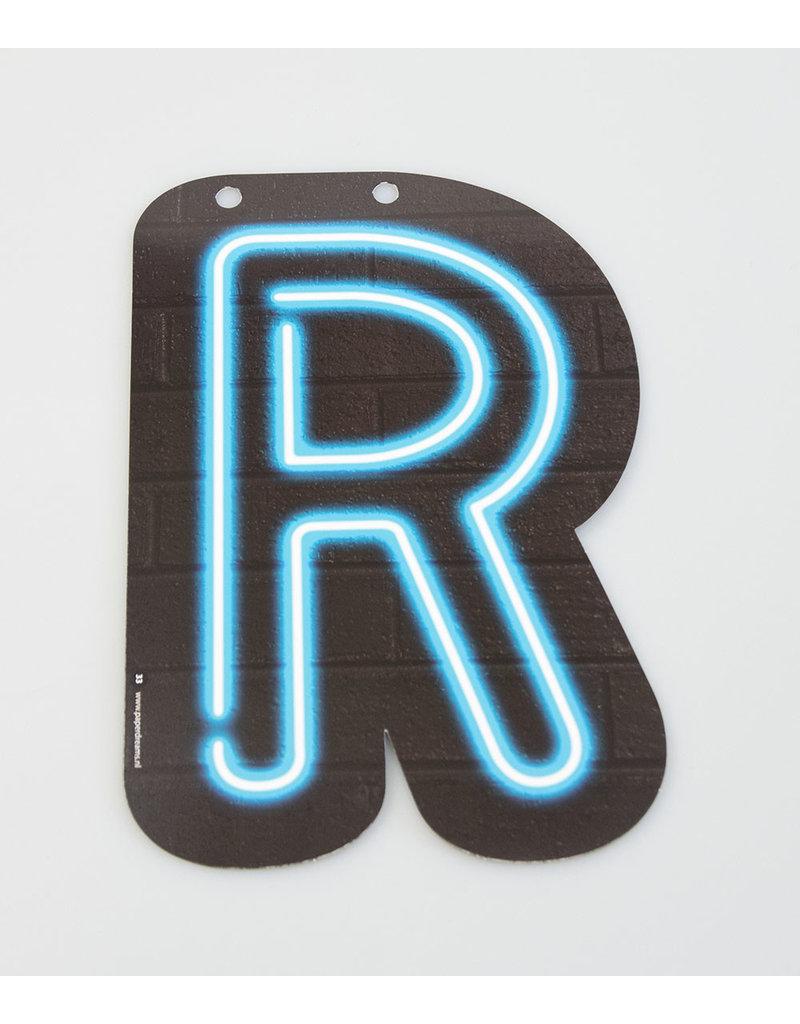 Neon letter - R