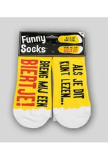 Funny Socks - Breng mij een Biertje