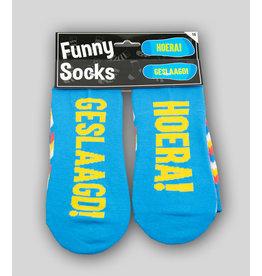 Funny Socks - Geslaagd!