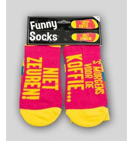 Funny Socks - Voor de Koffie
