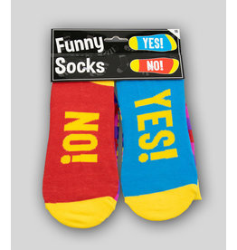 Funny Socks - Yes! No!