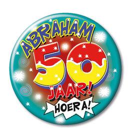 Button Klein – Abraham 50 Jaar