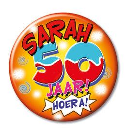Button Klein – Sarah 50 Jaar