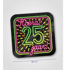 Huldeschild Neon - 25 jaar