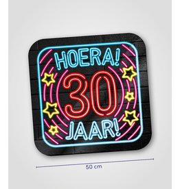 Huldeschild Neon - 30 jaar