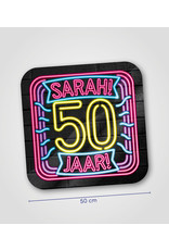 Huldeschild Neon - Sarah