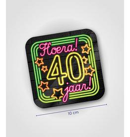 Onderzetter Neon - 30 jaar
