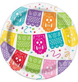 Bordjes Mexicaans Feest (18  cm, 8 stuks)