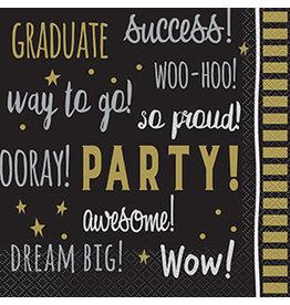 Servetten Graduate You did it (16 stuks)