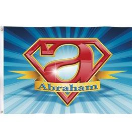 Gevelvlag Super Abraham (90 x 60 cm)