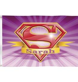 Gevelvlag Super Sarah (90 x 60 cm)