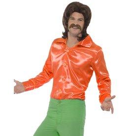 Jaren 60 Shirt, Oranje
