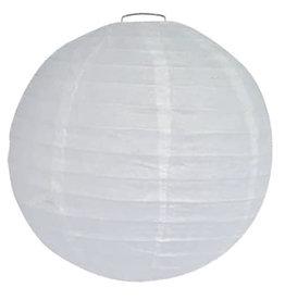 Lampion Wit (25 cm)