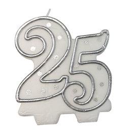 Cijferkaars 25, Zilver