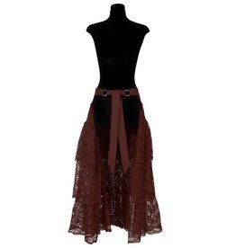 Lange Petticoat Kant, Bruin
