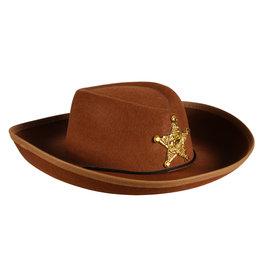 Cowboyhoed Kind, Bruin