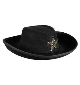 Cowboyhoed Kind, Zwart