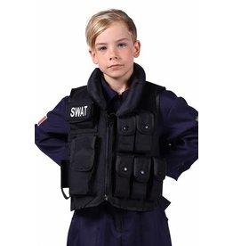 Swat Vest Kind, Zwart