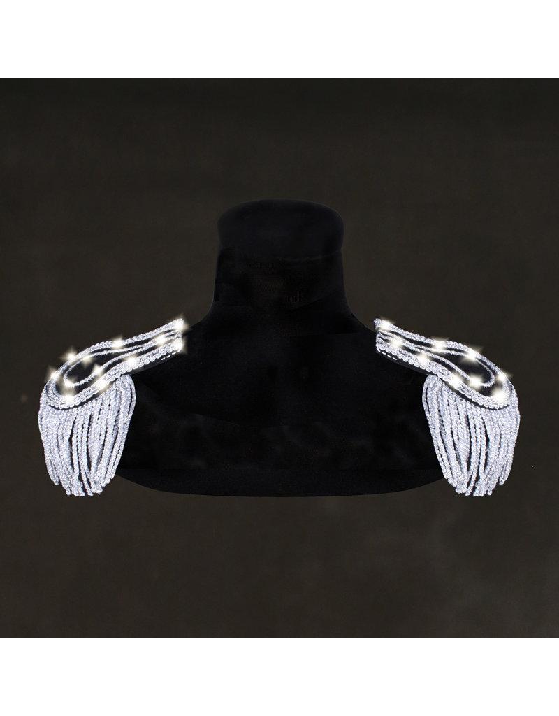Epauletten Eros, Zilver-Wit, Led-collectie